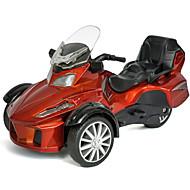 Speelgoedauto's Speeltjes Motorfietsen Politieauto Simulatie Motorfietsen Metaallegering Metaal Unisex Geschenk Action & Toy Figures