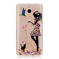 billige Mobilcovers-Til xiaomi redmi note 4 note 3 3s case cover sexy dame mønster bagcover soft tpu redmi note