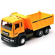 voordelige -Terugtrekvoertuigen Speelgoedauto's Speeltjes Constructievoertuig Brandweerwagen Speeltjes Simulatie Automatisch Metaallegering Metaal