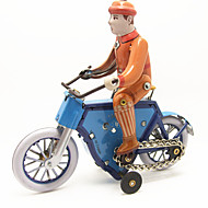 cheap Toys & Hobbies-Wind-up Toy Toy Cars Toys Motorcycle Bicycle Iron Metal 1 Pieces Children's Gift