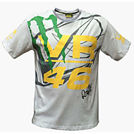 Motocicleta ropa de manga corta transpirable humedad transpiración de secado rápido ropa camiseta verano unisex