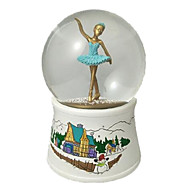 cheap Toys & Hobbies-Balls Music Box Toys Dancing Sphere Duck Crystal Resin Pieces Kids Unisex Birthday Gift