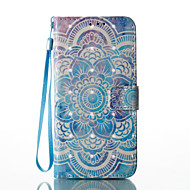 Кейс для Назначение SSamsung Galaxy S8 Plus S8 Кошелек Бумажник для карт со стендом Флип С узором Магнитный Чехол Мандала Твердый