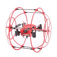 Dron M66 4 kanałowy Oś 6 - Oświetlenie LED Możliwośc Wykonania Obrotu O 360 Stopni HoverZdalnie Sterowany Quadrocopter Aparatura
