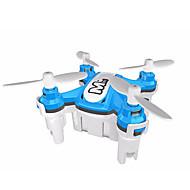 저렴한 -드론 JJRC HY371 Blue 4CH 6 축 - LED조명 360동 플립 비행 호버 RC항공기 리모컨 USB 케이블 사용자 메뉴얼