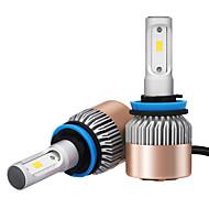 2шт h8 h9 h11 7200lm csp led del faro h11 светодиодная фара для автомобиля с чипами качества csp качества 36 Вт