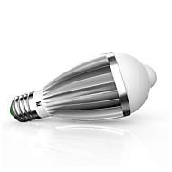 9W E26/E27 LED-älyvalot G60 18 ledit SMD 5630 Infrapunasensori Ihmisen kehon anturi Valaistuksen ohjaus Lämmin valkoinen Kylmä valkoinen