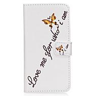 Недорогие Чехлы и кейсы для Galaxy S7-Кейс для Назначение SSamsung Galaxy S8 Plus S8 Бумажник для карт Кошелек со стендом Флип Магнитный С узором Чехол Слова / выражения