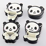 halpa Keittiötarvikkeet-4 osainen paistopinnan Kirjain for Ice for Cookie Candy Muovit Leivonta Tool 3D Korkealaatuinen