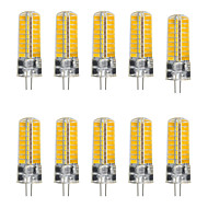 ywxlight® 5w g4 led bi-pin lights 72 leds smd 5730 500-600lm branco quente branco frio 2800-3200 / 6000-6500