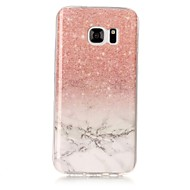 halpa Galaxy S4 kotelot / kuoret-Etui Käyttötarkoitus Samsung Galaxy S8 Plus S8 IMD Kuvio Takakuori Marble Pehmeä TPU varten S8 Plus S8 S7 edge S7 S6 edge S6 S5 S4 S3