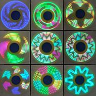 Spinners de mão Mão Spinner Pião Brinquedos Brinquedos Girador de Anel Metal EDCAlivia ADD, ADHD, Ansiedade, Autismo O stress e ansiedade