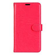Voor Samsung Galaxy A3 A5 (2017) case cover klassieke drie kaarten solide kleur pu huid materiaal portemonnee telefoon case a7 (2017) a3