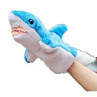 ราคาถูก -Puppets ปลา Shark สัตว์ทะเล น่ารัก สัตว์ต่างๆ Tactel Plush สำหรับเด็ก Toy ของขวัญ