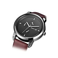 povoljno -REBIRTH Muškarci Ručni satovi s mehanizmom za navijanje Modni sat Kvarc PU Grupa Minimalistički Smeđa