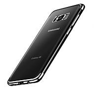 Недорогие Чехлы и кейсы для Galaxy S8 Plus-Кейс для Назначение SSamsung Galaxy S8 Plus S8 Покрытие Кейс на заднюю панель Сплошной цвет Мягкий ТПУ для S8 Plus S8