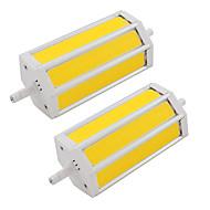 Χαμηλού Κόστους LED Σποτάκια-9W LED Σποτάκια Σωλήνας 3 COB 660 lm Θερμό Λευκό Ψυχρό Λευκό κ V