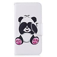 Для huawei p10 lite p8 lite (2017) телефон чехол pu кожа материал гигантский панда рисунок окрашенный p10 p9 lite p9 y5 ii честь 6x