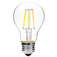 povoljno -6W LED filament žarulje A60(A19) 6 COB 450 lm Toplo bijelo Bijela Zatamnjen V 1 kom.