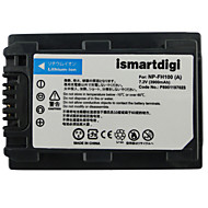 ismartdigi FH100 7.2V 3900mah kamera akkumulátor Sony HDR-SR11E SR12E sr65e