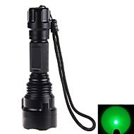 preiswerte Taschenlampen, Laternen & Lichter-LED Taschenlampen LED 500 lm 1 Schlag-Fassung Camping / Wandern / Erkundungen