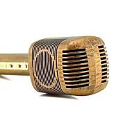 olcso Hangszórók-JY-51 retro fa színe stílus mágikus karaoke mikrofon vezeték nélküli bluetooth mikrofon hangszóró dal felvevő zenei KTV