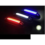 preiswerte Taschenlampen-Radlichter Fahrradrücklicht LED LED Radsport Outdoor Wasserdicht LED Licht Farbwechsel USB Lithium-Batterie 100 Lumen USB Natürliches