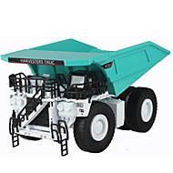 Terugtrekvoertuigen Speelgoedauto's Truck Constructievoertuig Legervoertuig Speeltjes Trein Vrachtwagen Metaallegering Metaal Stuks Niet