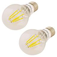 7W LED-globepærer 6 COB 600 lm Varm hvid V 2 stk.