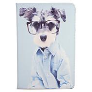 olcso iPad tokok-Case Kompatibilitás Apple iPad Mini 4 iPad Mini 3/2/1 Állvánnyal Flip Minta Héjtok Kutya Kemény PU bőr mert iPad Mini 4 iPad Mini 3/2/1