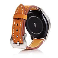 Недорогие Аксессуары для смарт-часов-Ремешок для часов для Gear S3 Frontier Gear S3 Classic Gear S3 Classic LTE Samsung Galaxy Классическая застежка Натуральная кожа Повязка