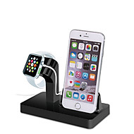 Gbu watch stand para apple watch series 1 2 ipad iphone 7 6 6s mais 5 5s 5c metal stand all-in-1 38mm / 42mm cable não incluem