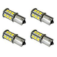 Недорогие Задние фонари-4шт 1156 / 1157 Автомобиль Лампы 2.5W SMD 5050 200lm Светодиодная лампа Внешние осветительные приборы