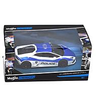 voordelige -Speelgoedauto's Modelauto Motorfietsen Politieauto Speeltjes Inrichting artikelen Simulatie Rechthoekig Metaallegering Stuks Niet