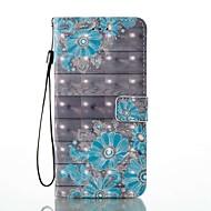 Für iPhone 8 iPhone 8 Plus Hüllen Cover Kreditkartenfächer Geldbeutel mit Halterung Flipbare Hülle Muster Handyhülle für das ganze Handy