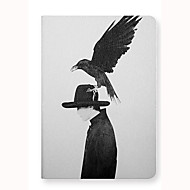 For Apple iPad Air 2 Case Cover with Stand Flip Pattern Auto Sleep/Wake Up Full Body Case Animal Hard PU Leather