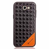 olcso Galaxy A tokok-Case Kompatibilitás Samsung Galaxy A5(2017) A3(2017) Dombornyomott Fekete tok Mértani formák Puha TPU mert A3 (2017) A5 (2017) A7 (2017)