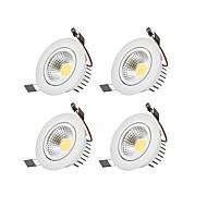 Luces LED Descendentes Blanco Cálido Blanco Fresco LED Bombilla Incluida 4 piezas