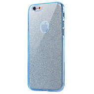 billige iPhone-etuier-Til iPhone 8 iPhone 8 Plus Etuier Stødsikker Heldækkende Etui Glitterskin Blødt TPU for Apple iPhone 8 Plus iPhone 8 iPhone 7 Plus iPhone