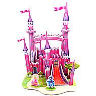 billige Legetøj og hobbyartikler-3D-puslespil Puslespil Modelbyggesæt Borg Berømt bygning Arkitektur GDS Hårdt Kortpapir Klassisk Anime Tegneserie Unisex Gave