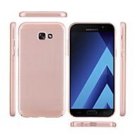 Case Kompatibilitás Samsung Galaxy A5(2017) A3(2017) Jeges Hátlap Tömör szín Kemény PC mert A3 (2017) A5 (2017) A7 (2017) A7(2016)