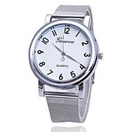 preiswerte Tolle Angebote auf Uhren-Damen Quartz Armbanduhr Militäruhr Sportuhr Armbanduhren für den Alltag Edelstahl Band Luxus Kreativ Freizeit Einzigartige kreative Uhr