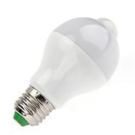 7W B22 Okos LED izzók A60(A19) 14 led SMD 5730 Infravörös érzékelő Az emberi test érzékelő fényvezérlő Meleg fehér Hideg fehér 650lm