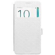 Taske til Sony Xperia x xa case cover kortholder med stativ flip præget fuld krop tilfælde geometrisk mønster hard pu læder til Sony xz x