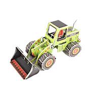 billige Legetøj og hobbyartikler-3D-puslespil Modelbyggesæt Gaffeltruck GDS Højkvalitetspapir Klassisk Unisex Gave