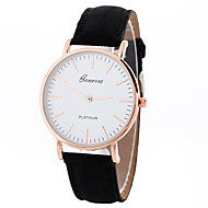 cheap Sport Watches-Geneva Women's Sport Watch Wrist Watch Quartz Creative Casual Watch Cool Leather Band Analog Charm Luxury Casual Black / White / Brown - White Black Brown One Year Battery Life / SSUO LR626