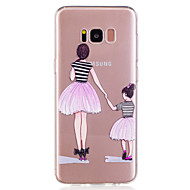 Недорогие Чехлы и кейсы для Galaxy S8 Plus-Кейс для Назначение SSamsung Galaxy S8 Plus / S8 С узором Кейс на заднюю панель Соблазнительная девушка Мягкий ТПУ для S8 Plus / S8 / S7 edge