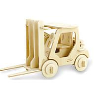 billige Legetøj og hobbyartikler-3D-puslespil Puslespil Træmodeller Dinosaur Luftfartøj Gaffeltruck 3D GDS Træ Klassisk Gaffeltruck Unisex Gave