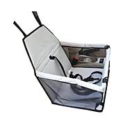 Gato Perro Cobertor de Asiento Para Coche Mascotas Portadores Impermeable Ajustable/Retractable Portátil Transpirable Plegable Un Color