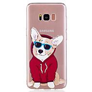 Case Kompatibilitás Samsung Galaxy S8 Plus S8 Minta Hátlap Kutya Puha TPU mert S8 S8 Plus S7 edge S7 S6 edge S6